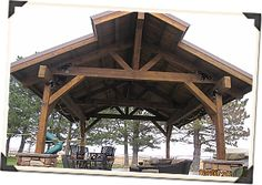 Wood RV Carport Plans | Visit Our Pavilion Gallery