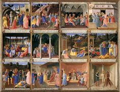Scenes from the Life of Christ (detail) by Fra Angelico