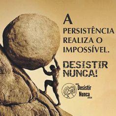 Siga em frente!: Persistência e Fé