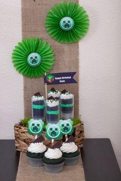 """MineCraft Birthday Party """