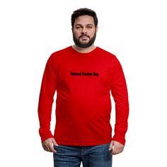 The National Freedom Day | American Flag Apparel Kim Jinhwan, Hanbin, Customize Your Own Shirt, Be A Nice Human, Dye T Shirt, Sport T Shirt, Heather Black, Logos, Custom Clothes