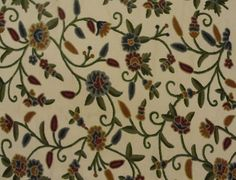 Google Image Result for http://www.crewelfabricworld.com/images/stories/fabrics/MDSFACOTTD006F22-017S5/Flowers%2520and%2520Buds%2520Sweet%2520Pine%2520Cotton%2520Duck.jpg