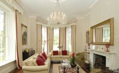 A third sitting room with large bay windows letting in plenty of light for the newly marri...