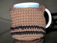 Debbie Jean's: Mug Cozy - free crochet pattern