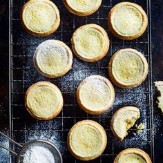 Maids of honour tarts are a traditional British recipe dating back to Tudor times. These little tarts have a cream cheese, lemon and almond filling and are a tempting sweet treat any time of the day, but especially good for afternoon tea. Tart Recipes, Sweet Recipes, Dessert Recipes, Cooking Recipes, Dessert Tarts, British Baking, British Bake Off, Sweet Pie, Sweet Tarts
