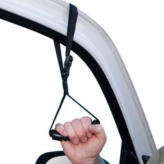 Get in and out of your vehicle - safely and easily.  Easy to install - no tools.  Simply roll down your window and put the strap around the top of the window.  Only $19.99.  See our entire line of helpful mobility aids or call 1-800-985-1353 with questions.