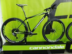 Cannondales new F-Si Carbon Team, with XX1, Enve wheels and their Lefty 2.0 Carbon XLR