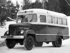 ПАЗ-651А на шасси ГАЗ-63Е '1961
