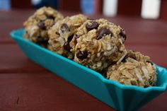 Feeding the troops: Banana Coconut Chocolate Chip Cookies