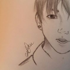 JEON JUNGKOOK  #sketchbook #sketch #pencil #bts #maknae