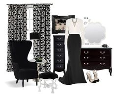 """""""Almost Ready"""" by mary-kay-de-jesus on Polyvore featuring Elizabeth and James, Reem Acra, Marchesa, David Yurman, Threshold, Hooker Furniture and Eichholtz"""