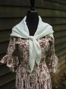 18th Century Frontier Clothing From | Jas. Townsend & Son 18th Century Reenactment Colonial Black Linen Neck ...
