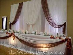 Wedding, Reception, Decor, Brown, Fall, Rustic, Theme, The wedding decorators inc