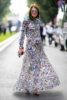 Après New York et Londres, les Fashionistas Ont Débarqué à Milan Jour 3 Anna Dello Russo
