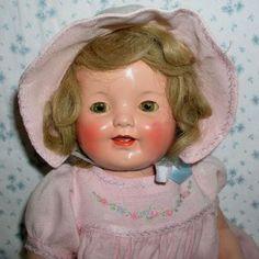 "RARE --1930 Effanbee LOVUMS 18"" Composition Doll -- Mint Old Dolls, Antique Dolls, Doll Toys, Baby Dolls, Baby Boomer Era, Victorian Toys, Baby Doll Nursery, Effanbee Dolls, Vintage Paper Dolls"