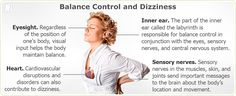 Balance control and dizziness Sensory Nerves, Inner Ear, Menopause Symptoms, Central Nervous System, Be A Nice Human, Health Problems, Healthy Tips, Need To Know, No Response