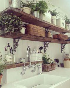 J'adore ce style de cuisine, sa me donne des idées ... #pinterest#home#homesweethome#cuisine#decor#decoration#instadecor#kitchen #maison#designer#deco#interior#interiordesign