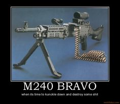M240 i love this weapon, but truly unfunctional over long periods of time without proper conditioninh for a girl my size, but still useable