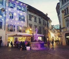 The beautiful town of Rovereto 😀