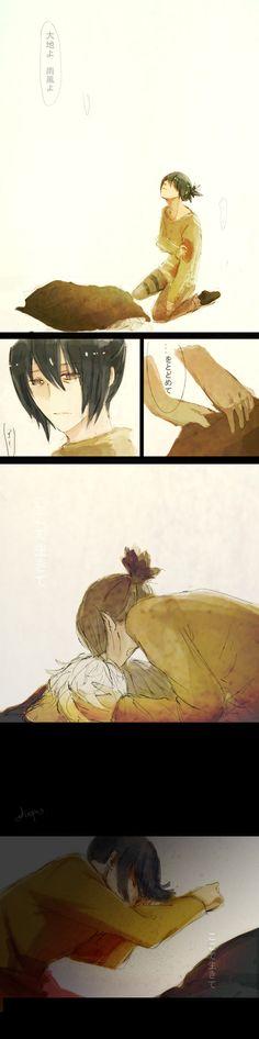 Shion's death in the anime I CRIED I CRIED SO BADDDDD!!!!!!!!! It was so tragic!!!