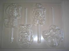 WOODY,BUZZ,MR & MRS POTATO HEAD TOY STORY CANDY MOLD