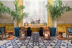 Brasilidade e conforto são as marcas do loft criado pelo duo para a mostra Casa Cor Campinas. Projeto Marcela e Mayra Mendes.