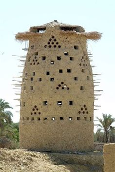 Pigeons Tower Egyptian countryside Now