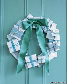 Love the idea of this in silver boxes with red or blue ribbons