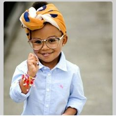 This little girl is just TOO adorable!