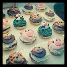 Funny cupcakes in Barcelona*