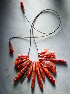 Really love this coral necklace from dinosaur designs.