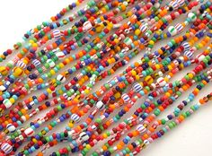 Love Beads - I made hundreds of these necklaces with wires as a young girl.