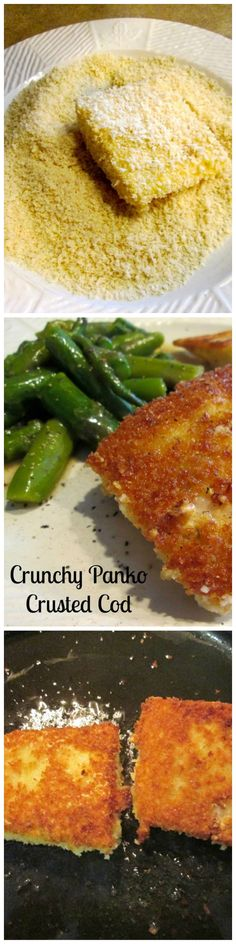 Tired of boring fish for dinner? Our recipe for Crunchy Panko Crusted Cod will take your fish to a whole new delicious crunchy level!