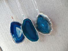 Gift For Her Gift For Girlfriend Blue Large Slice by EliteStone