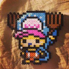Chopper One Piece perler beads by saerys