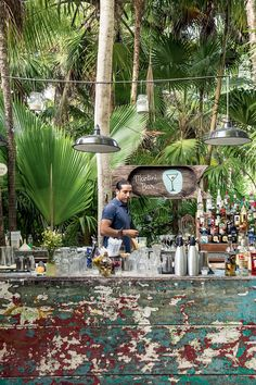 Unsere Adressen in Tulum, Karibik Restaurant En Plein Air, Tulum Restaurants, Bar Deco, Resorts, Beach Cafe, Outdoor Cafe, Boho Home, Cafe Bar, Interior And Exterior