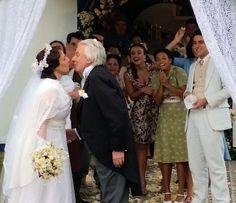 Eponina e Pandolfo se casam (Foto: Leonardo Arromba / Gshow)