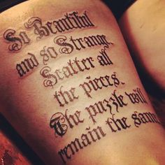 Sara Fabel...cool font...looks like an old library book :)