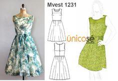 Coqueto y femenino, así de simple. El molde está en www.unicose.net / Código 10101231