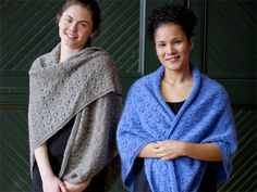 Eyelet Circles Shawl by Susan Mills - Free Knitted Pattern - (ravelry)