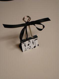 LARGE binder clip recipe  gift card  photo by kuteklipboardsbyamy