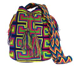www.mochilaswayuu... www.facebook.com/Wayuuuuuu www.etsy.com/... ASK FOR OUR WHOLESALE PRICES whatsapp :+57 3203459226 $43 USD #wayuu #crochet #handmade #crochet #boho #bohostyle #bohochic #hippie #cartagena #colombia #colombiabags #art #wayuutribe #mochilaswayuu #mochilas#psychedelic#beachbag #Desertbag Tapestry Bag, Tapestry Crochet, Tribal Bags, Boho Fashion, Boho Chic, Stitches, Facebook, Handmade, Etsy
