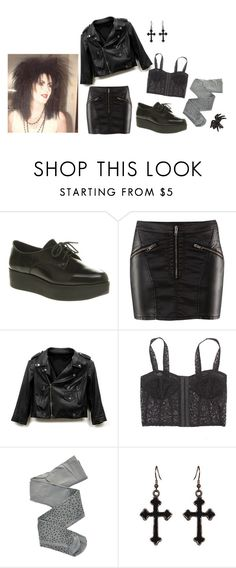 """Spiders"" by lydiadeaddoll ❤ liked on Polyvore featuring H&M, Rebecca Minkoff, Blackheart, ZOHARA and River Island"