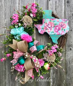 Floral Texas  by Holiday Baubles