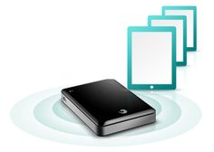 I really like the concept of this portable hard drive that can stream media to your #mobile  device, far expanding it's storage capability. Now on my wish list.