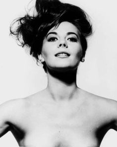 Natalie Wood by BERT STERN - Vogue, 1964.