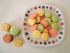 Button cookies!!!
