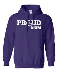Must have one of these, and in my favorite color too.  Proud Mom Hooded Pullover