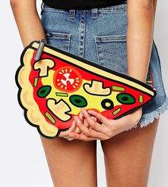 A clutch to put your money for dinner in.