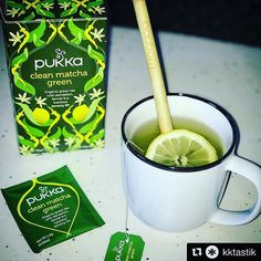 #Repost @kktastik  Happy Sunday to everyone   One of the key elements to my Morning routine is a clean matcha green tea by @pukkaherbs This tea really gives me good start to my day! In addition to its great taste it is eco-friendly and fair trade option to your daily tea choice!  The @boobambrush straw is a great  sustainable option while also maintaining a great aesthetic! #boobambrush #boobamstraw #beaplanethero  #thinkgreen #plastic #plasticsucks #noplasticstraws #greekcompany Matcha Green Tea, Green Cleaning, Happy Sunday, Fair Trade, I Am Awesome, Routine, Eco Friendly, Plastic, Key